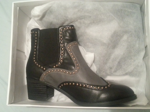 My Jeffrey Campbell boots in their box